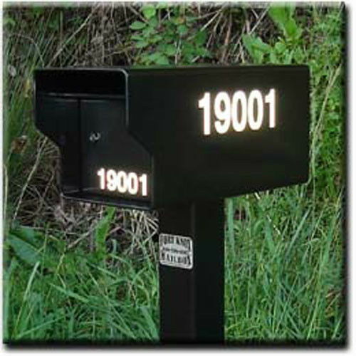 Fort Knox Mailbox 3 Quot Reflective Vinyl Address Decals For