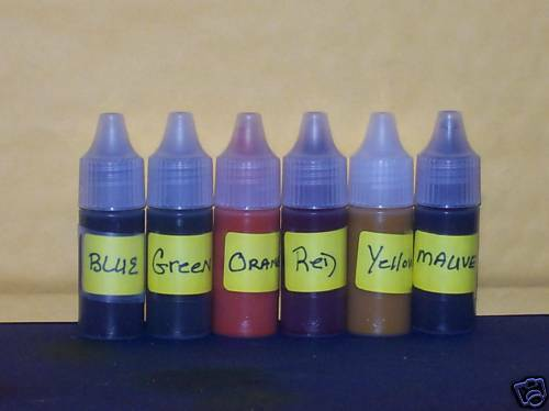Maryscents Candle Making Supply 6 Pack 1 4 Oz Rich Colors