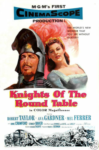 Knights Of The Round Table Robert Taylor Movie Poster EBay