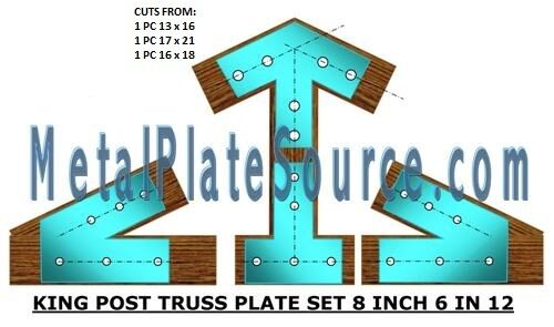 Timber truss plates heavy duty build your own trusses ebay for Where to buy trusses
