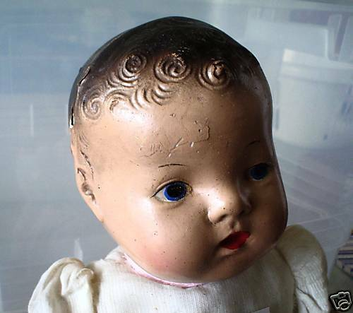 Vintage 1930s Composition Dionne Baby Girl Doll Look Ebay