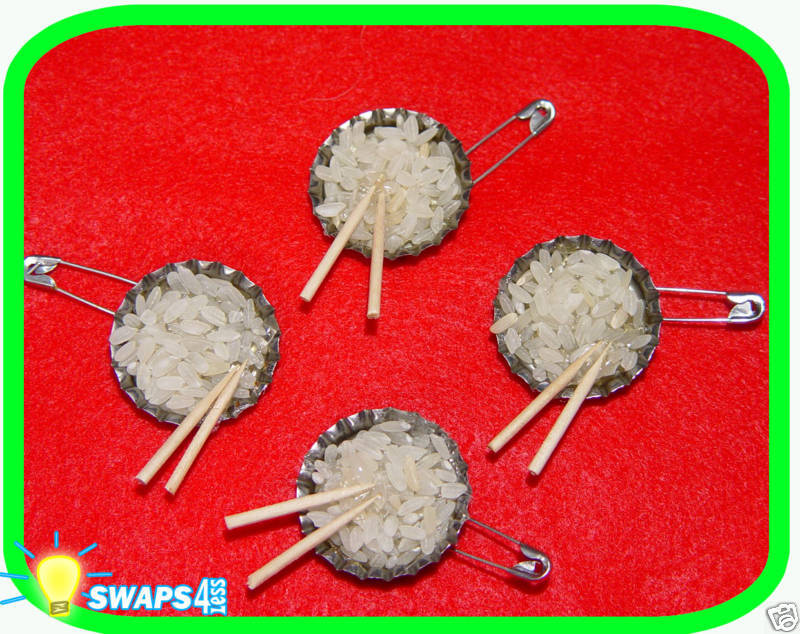 asian rice bowl girl scout swaps craft kit by swaps4less
