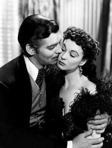 Gone With The Wind Clark Gable Vivien Leigh 10x8 Photo Ebay