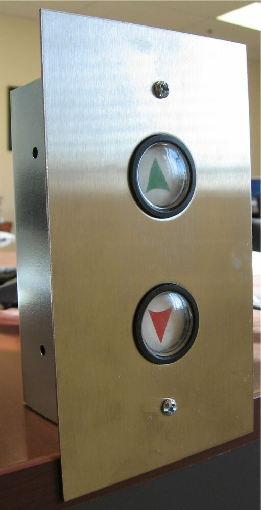 Elevator Push Buttons S 06 Hall Station Up Amp Down Arrow Ebay