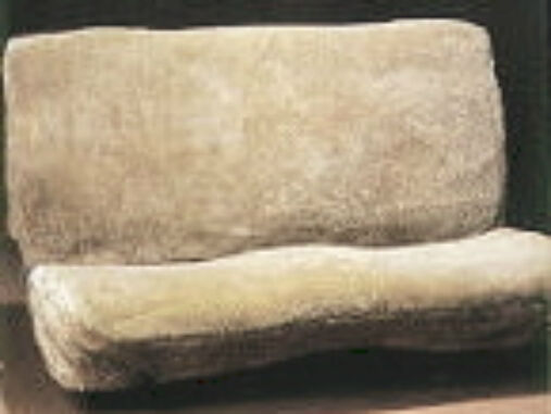 Sheepskin Motorcycle Seat Covers >> DELUXE SUPERFIT SHEEPSKIN LARGE TRUCK BENCH SEAT COVER | eBay