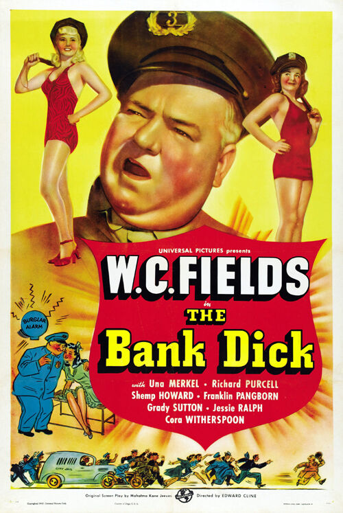Join the The bank dick dvd