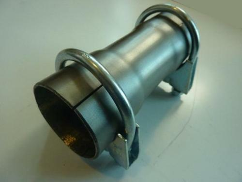 Quot mm exhaust pipe connector sleeve joiner adapter