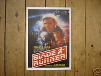 Blade Runner Awsome repro Ford Harrison Poster