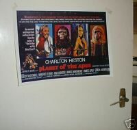 Planet of the Apes Great 1960's Repo Film Poster