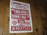 The Beatles Repro Concert POSTER Liverpool
