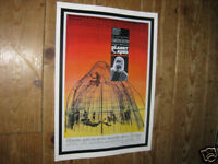 The Planet of the Apes Repro Film POSTER Orange