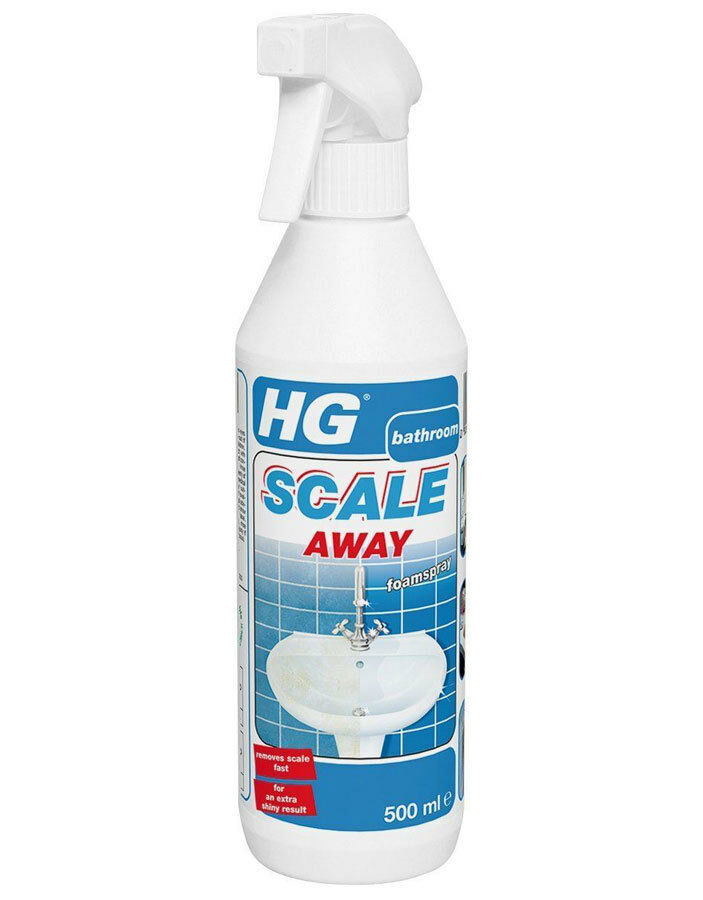 Hg bathroom limescale remover foam spray cleaner scale for H g bathroom mould spray