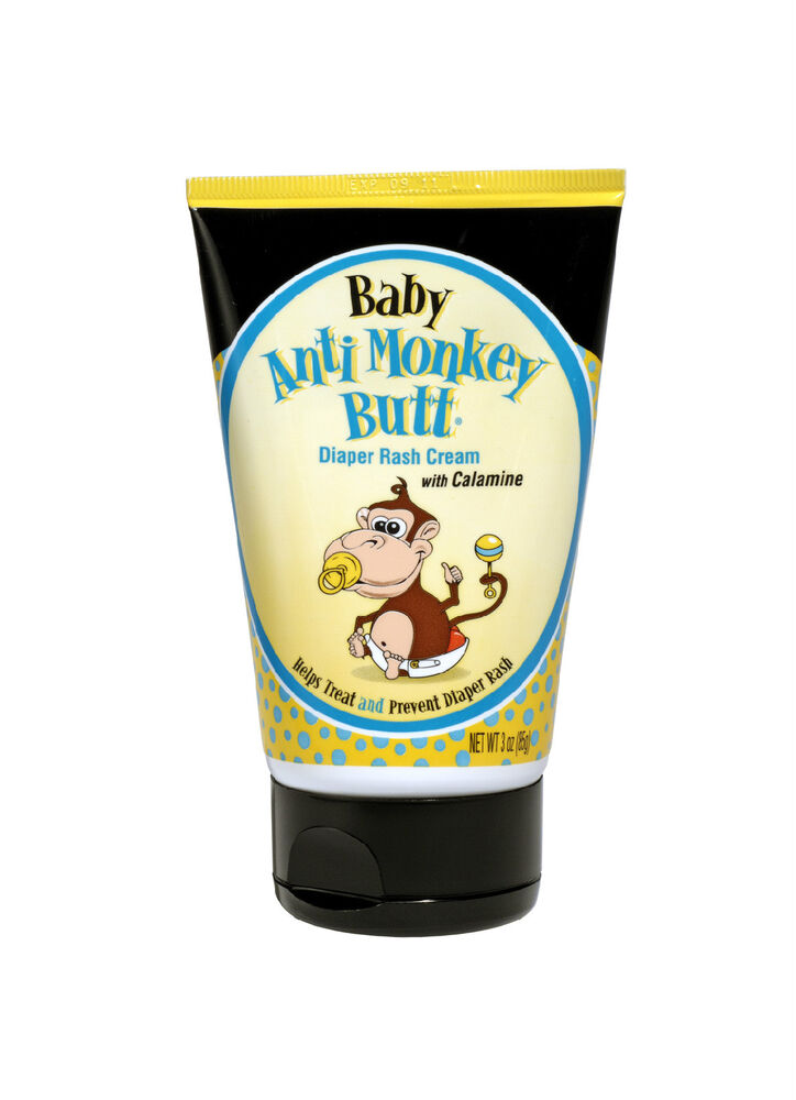 baby anti monkey butt diaper rash cream w calamine 3oz ebay. Black Bedroom Furniture Sets. Home Design Ideas