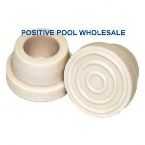 White male ladder rubber bumpers set of 2 ebay - Rubber swimming pool ladder bumper ...