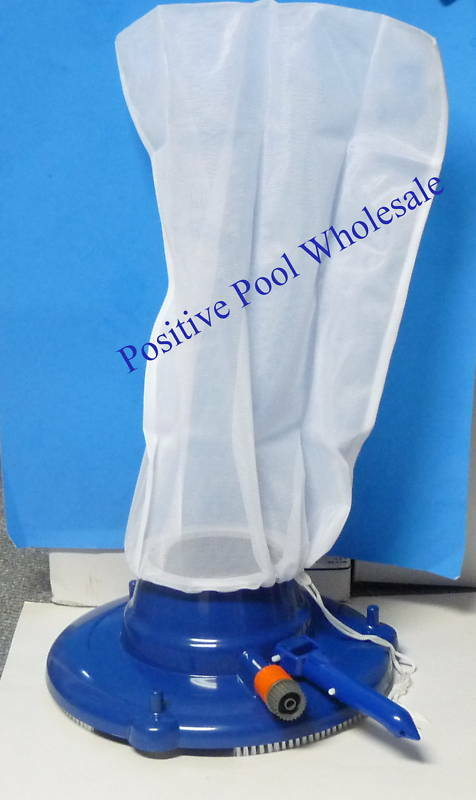Pool vacuum cleaner leaf eater with bag hose suction ebay for Garden hose pool vacuum