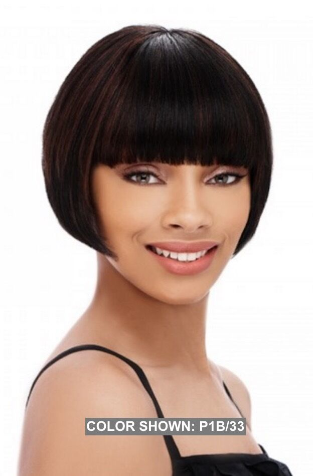 how to style a human hair wig it s a wig 100 human hair wigs temi bob style 7580
