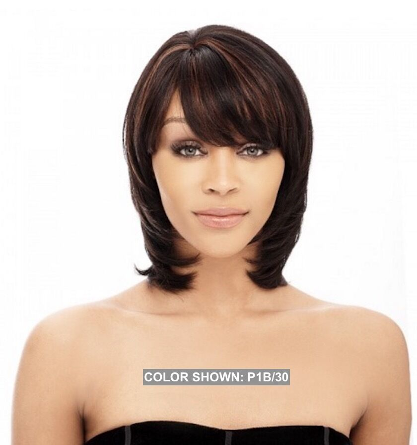 how to style human hair wigs it s a wig 100 human hair wig yaky810 medium bob style w 2021