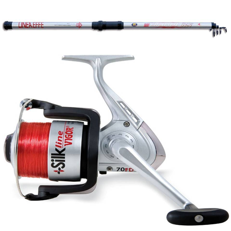 brand new sea beach pier fishing travel rod and reel deal
