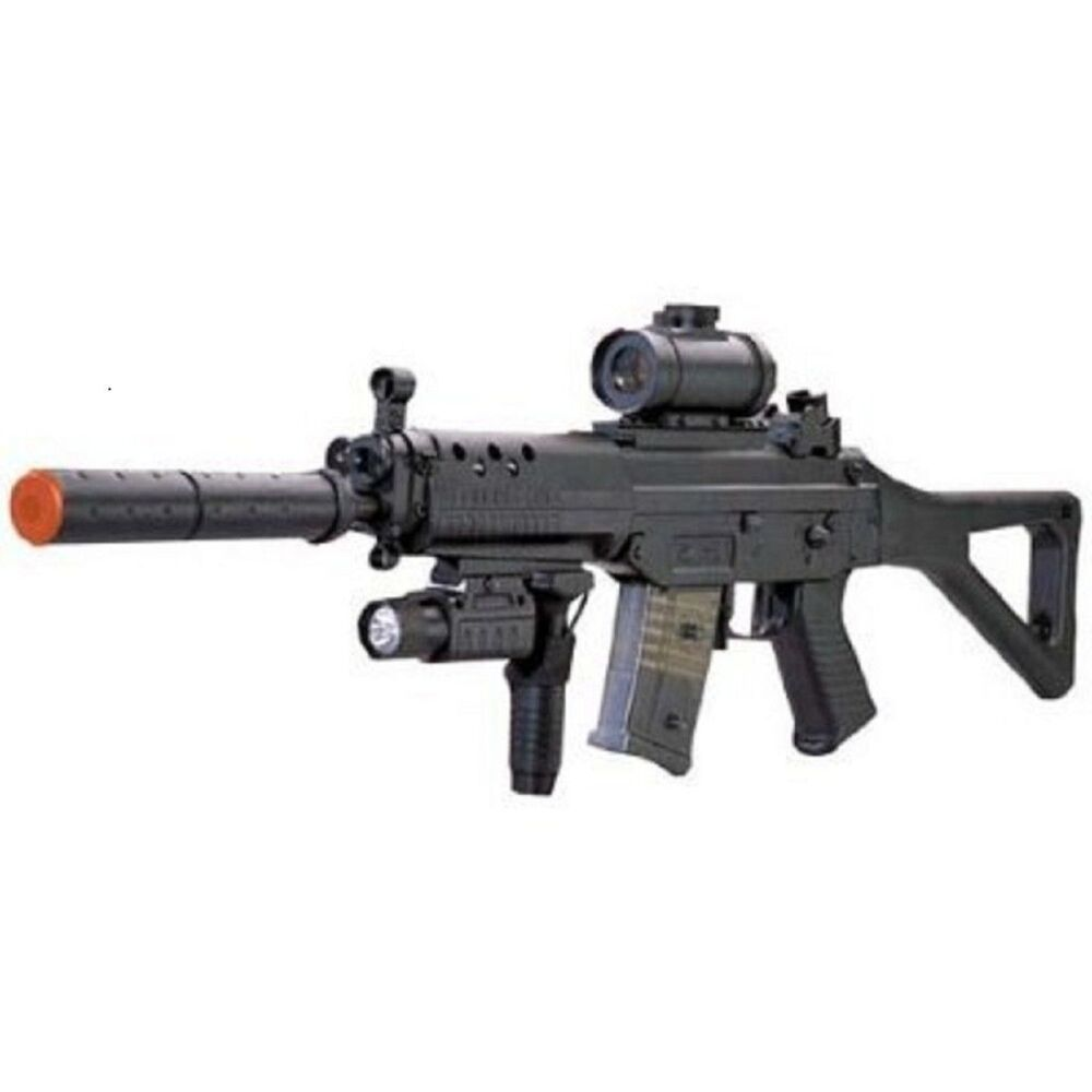 Double Eagle M82 Electric Airsoft w/ EXTRA Mag + Loader | eBay