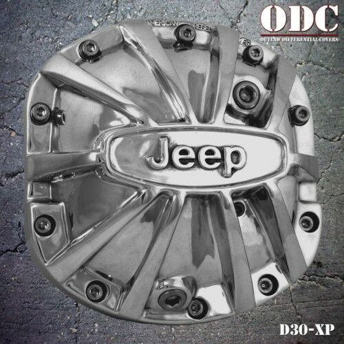 JEEP XTREME POLISHED DIFFERENTIAL COVER DANA 30 DIFF | eBay