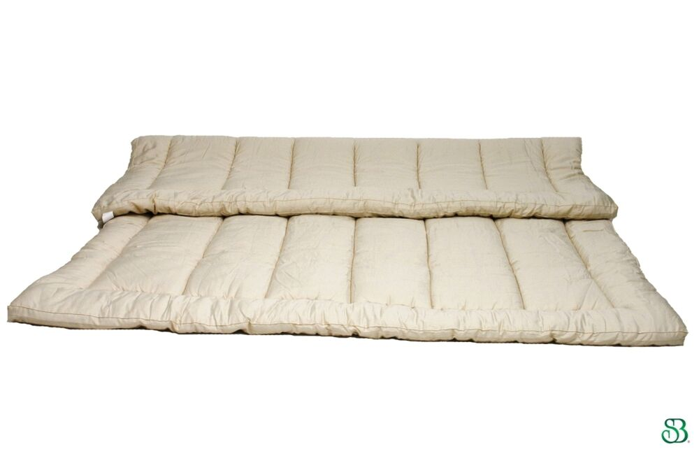 Organic Wool Twin Mattress Topper Pad Hypoallergenic Ebay
