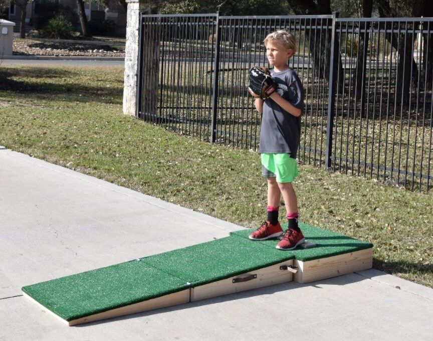 "Portable Pitching Mound - 6"" for 12U - Two Piece, Sets up ..."