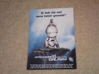 UNUSED POSTCARD - HITCHHIKER'S GUIDE TO THE GALAXY