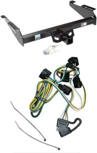 1995 2002 dodge ram trailer tow hitch w wiring kit ebay. Black Bedroom Furniture Sets. Home Design Ideas