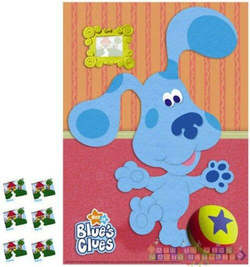 BLUE'S CLUES Room PARTY GAME POSTER