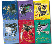 The Worst Witch Collection 6 Books Set Jill Murphy Pack