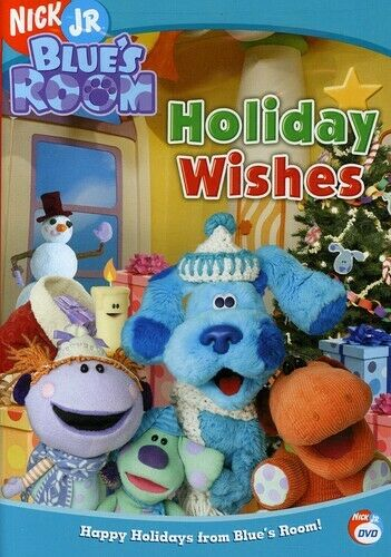 Blue S Room Holiday Wishes Dvd 2005 97368773844 Ebay