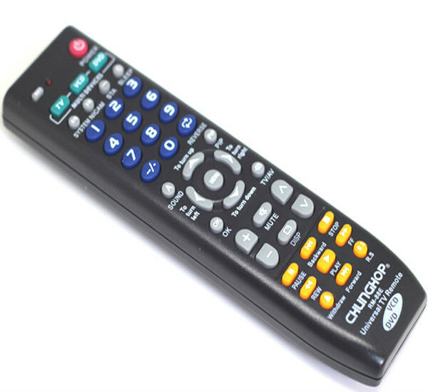 universal tv remote control auto search for hisense sony tcl tv model ebay. Black Bedroom Furniture Sets. Home Design Ideas