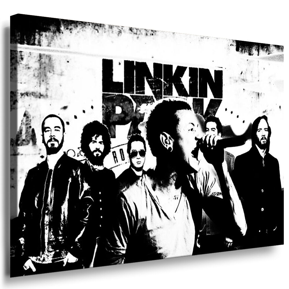 linkin park bild leinwand bilder leinwandbild kunstdrucke wandbilder k poster ebay. Black Bedroom Furniture Sets. Home Design Ideas