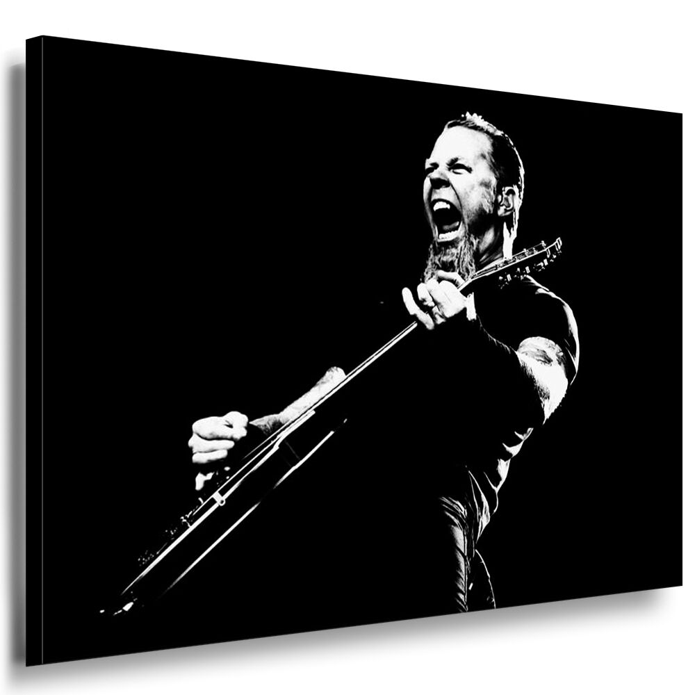 metallica leinwand bild xxl bilder wandbild leinwandbilder. Black Bedroom Furniture Sets. Home Design Ideas