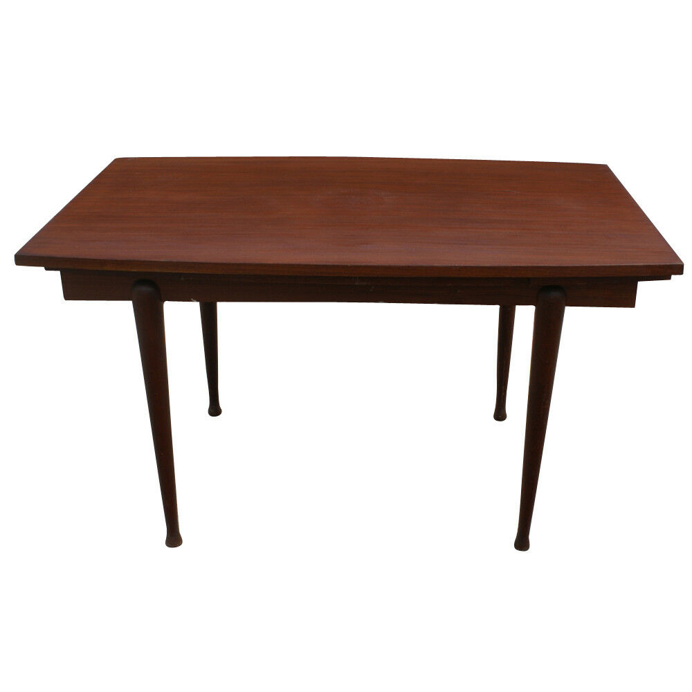 Vintage danish mahogany dining extension table mr10464 for Breakfast table