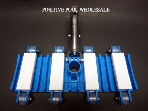 Swimming pool concrete vacuum head pool spa cleaner ebay for Best vacuum for cement floors
