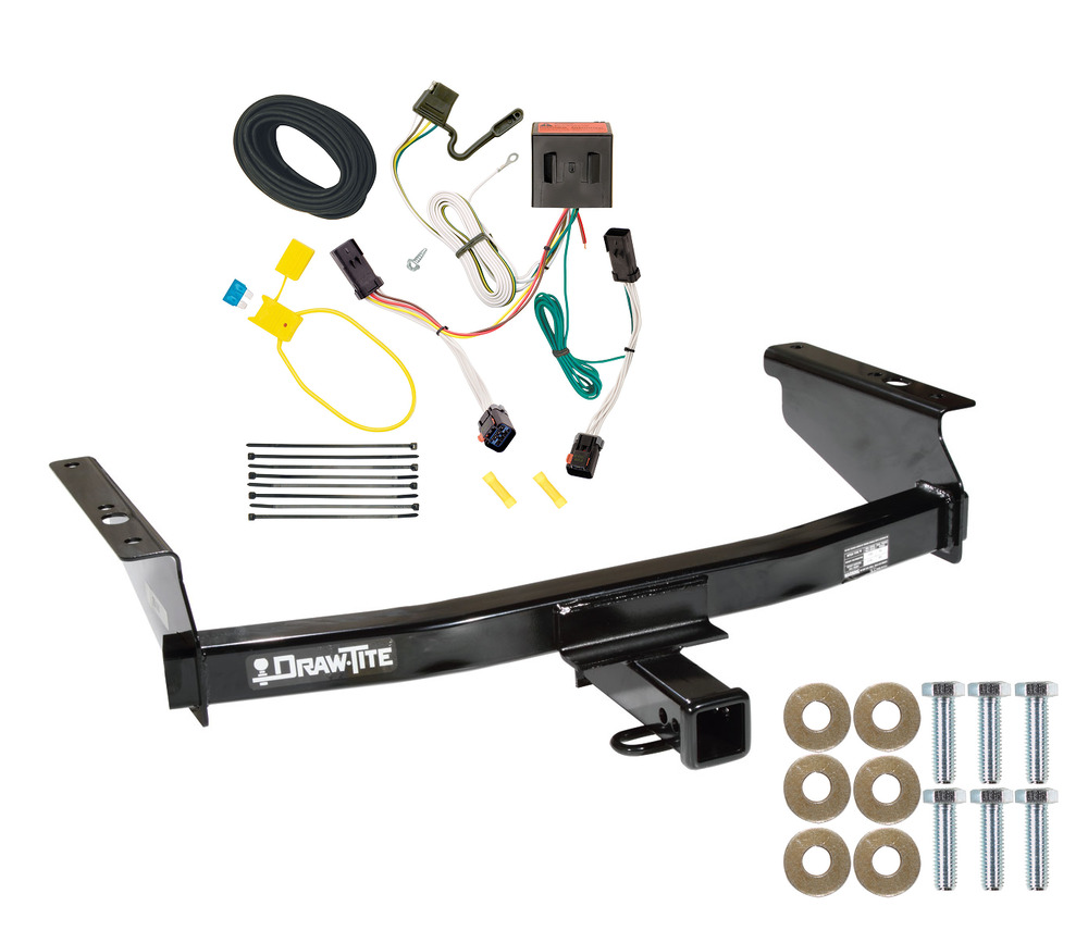 2002 2007 jeep liberty trailer hitch w wiring kit easy ebay. Black Bedroom Furniture Sets. Home Design Ideas