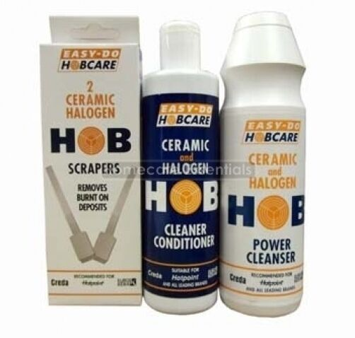 Easy Do Ceramic And Halogen Hob Cleaner Conditioner Kit
