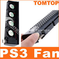 USB 4 X Cooling Fan cooler For Sony Playstation 3 PS3