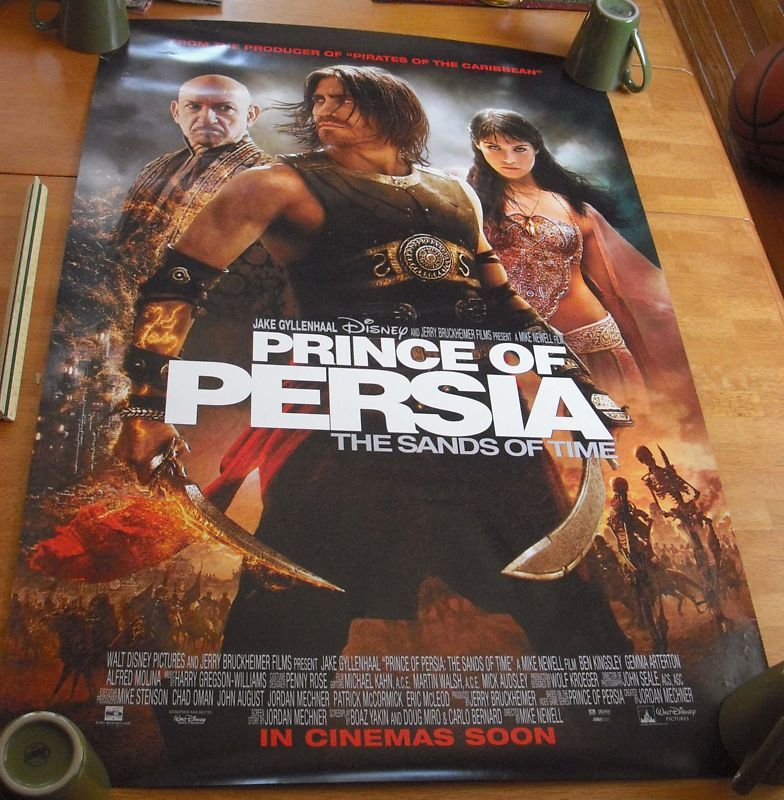 Prince of Persia Disney Double sided movie poster | eBay