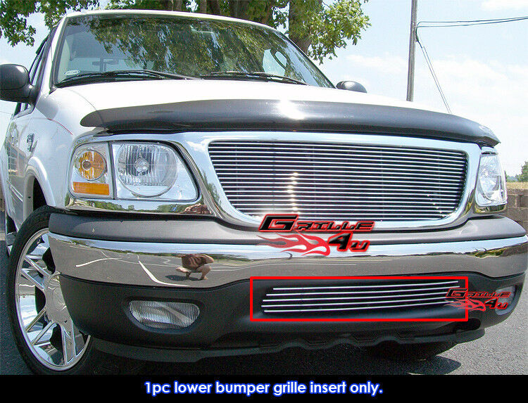 for 99 03 ford f 150 2wd bumper billet grille insert ebay. Black Bedroom Furniture Sets. Home Design Ideas