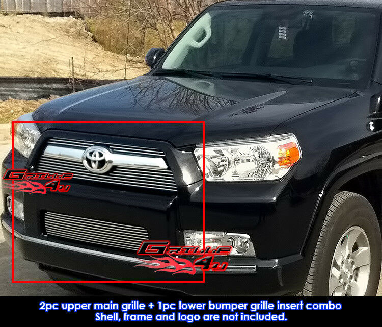 for 10 11 2011 toyota 4runner billet grille combo insert. Black Bedroom Furniture Sets. Home Design Ideas