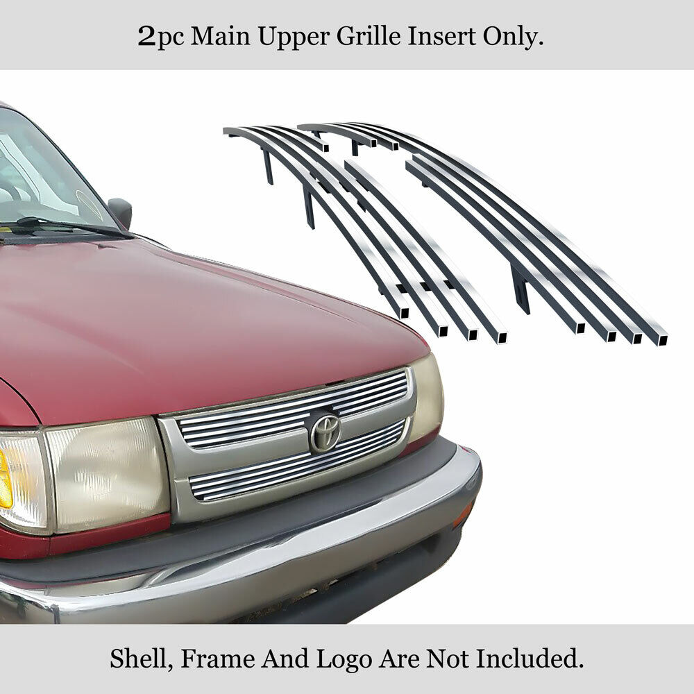 for 98 00 toyota tacoma regular model billet grille insert. Black Bedroom Furniture Sets. Home Design Ideas