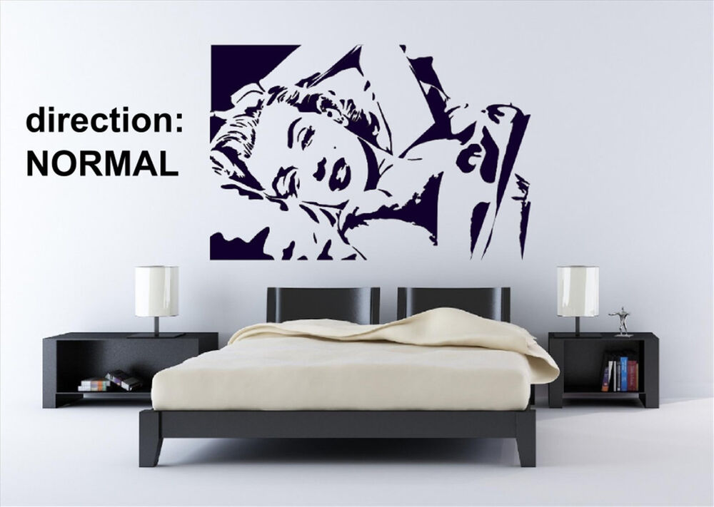 Sexy Marilyn Monroe Amazing Decal Vinyl Wall Stickers High