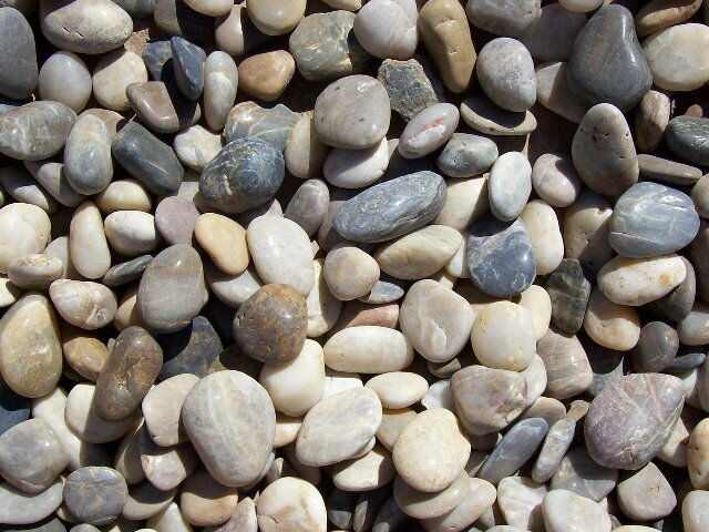 30 lbs multi color polished river rock pebble stone 2 3 for What are river stones