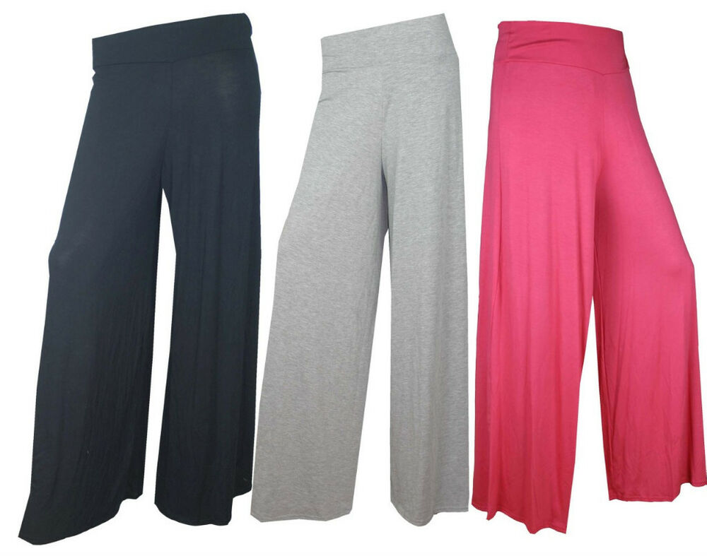 Innovative 247 Comfort Apparel Women39s Palazzo Wideleg Pants