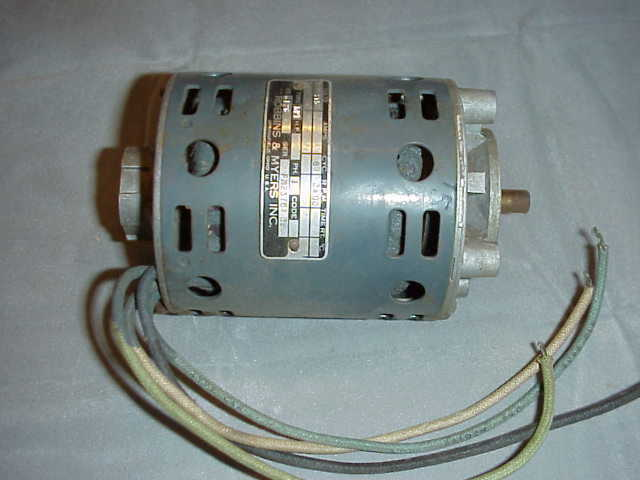 Robbins myers type kpt motor 115v 3400 rpm unused ebay for Robbins and myers replacement motors