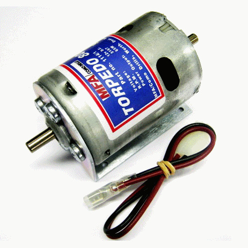Radio Shack Electric Motor Kit: MFA Torpedo 800 Electric Motor For Radio Control Boats