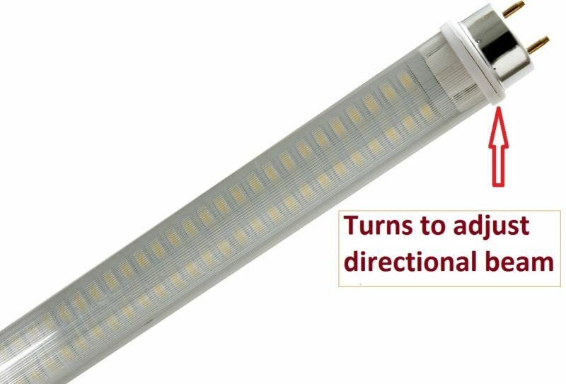 Led T8 Tube Replacement Light 18 Quot 500 Lum Rv Marine 12v Or