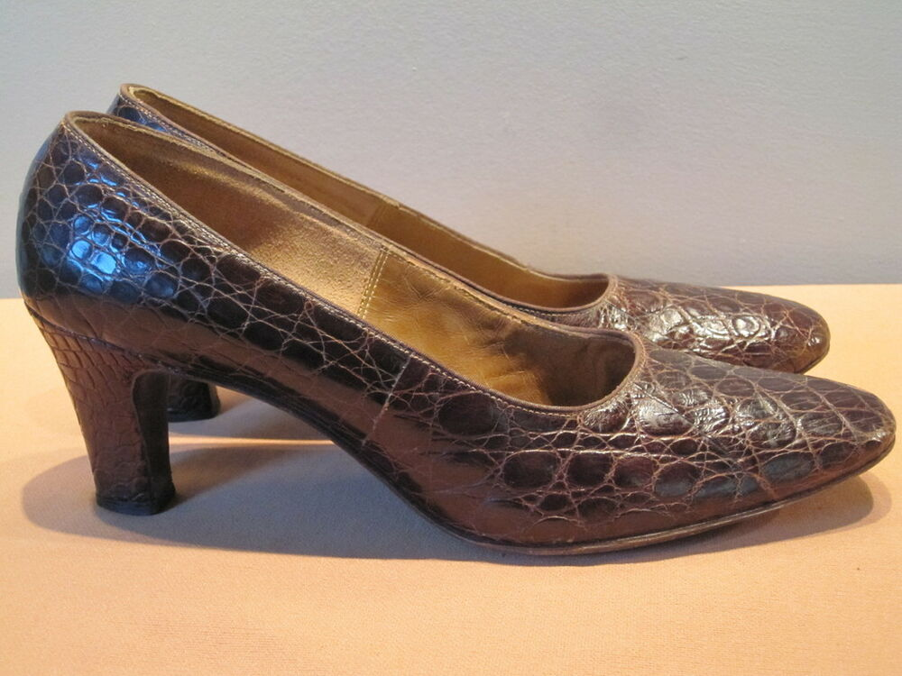 Brown Leather Dolly Shoes